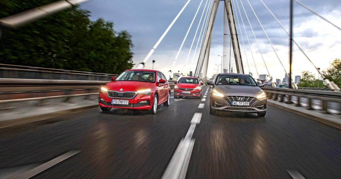 Skoda Scala, Opel Astra, Hyundai i30,