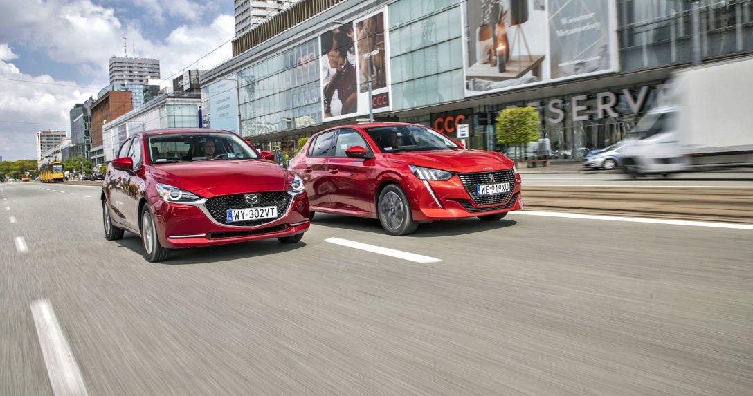 Mazda 2 1.5 Sky-G kontra Peugeot 208 1.2 PT 100