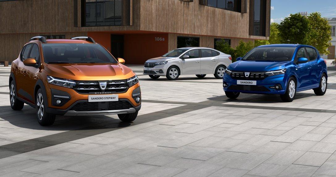 Dacia Logan i Sandero