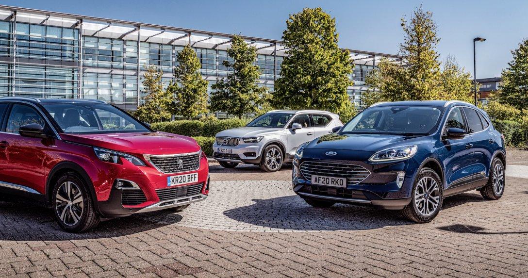 Ford Kuga PHEV i rywale – porównanie hybryd plug-in