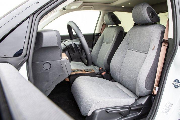 Honda e test 2020 05 fotele