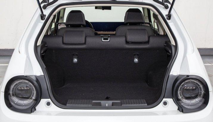 Honda e test 2020 06 bagażnik