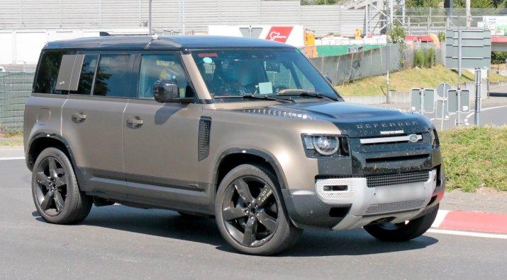 Land Rover Defender V8 6
