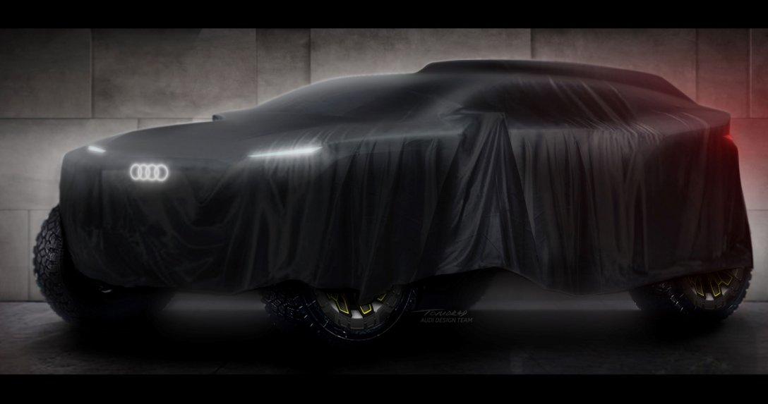 Elektryczne Audi wystartuje w Rajdzie Dakar 2022