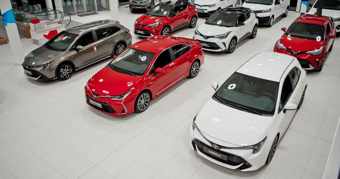 Toyota salon