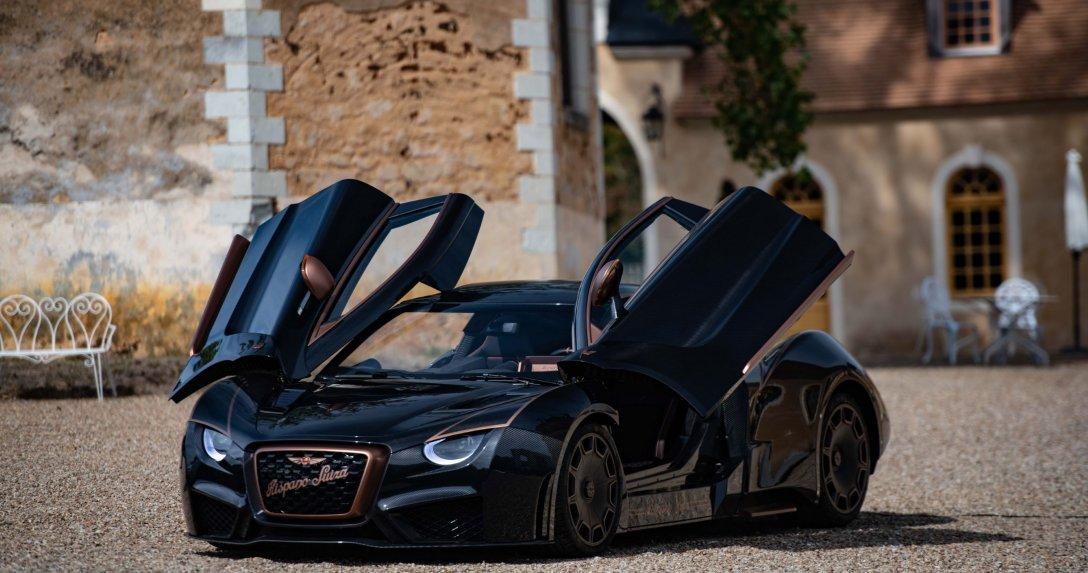 Powstanie tylko 5 takich aut: Hispano Suiza Carmen Boulogne