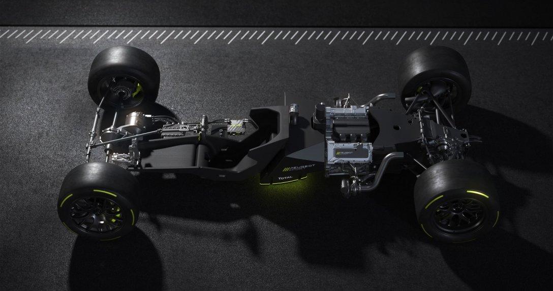 Peugeot ujawnia szczegóły bolidu na wyścig w Le Mans