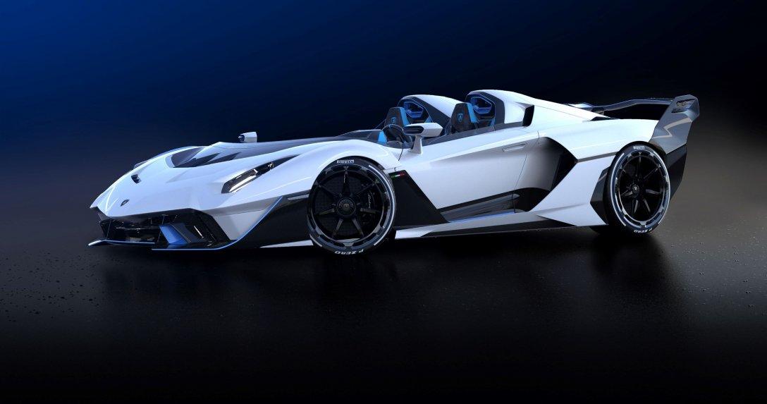 Unikat na specjalne życzenie – Lamborghini SC20