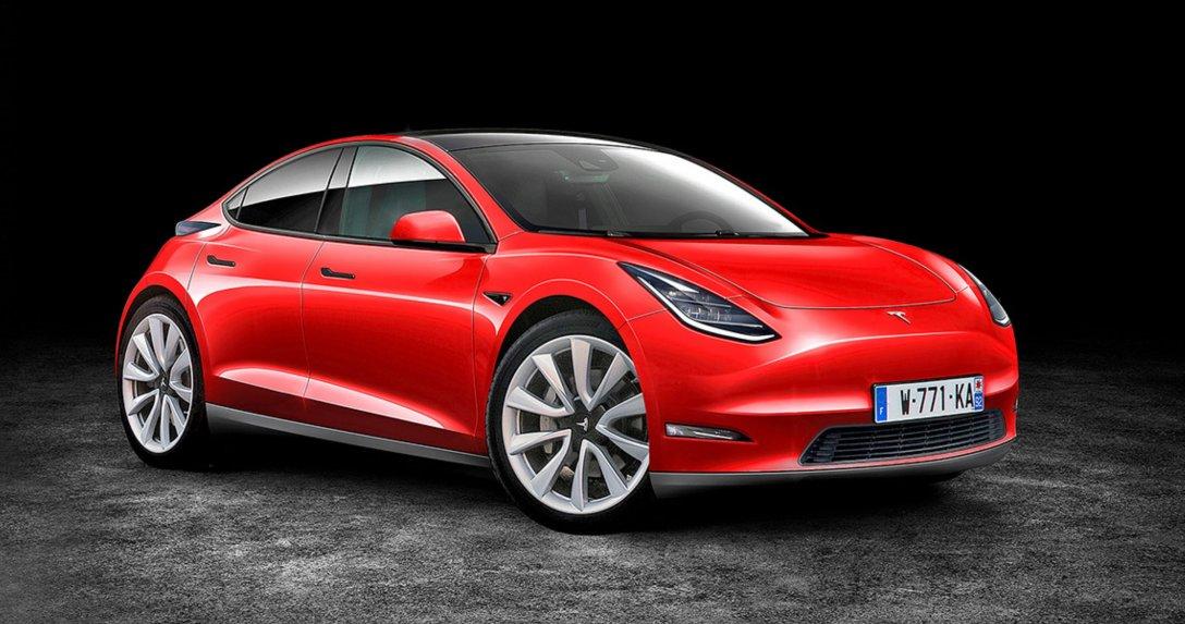 Tak mogłaby wyglądać pierwsza kompaktowa Tesla