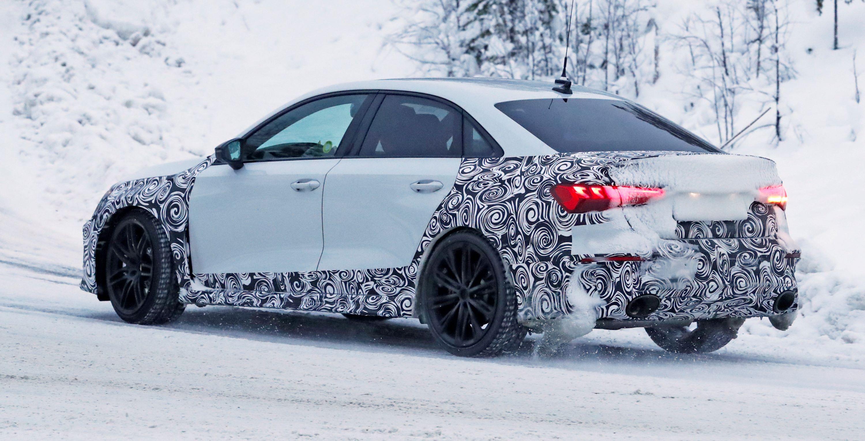 Audi RS3 sedan winter 8