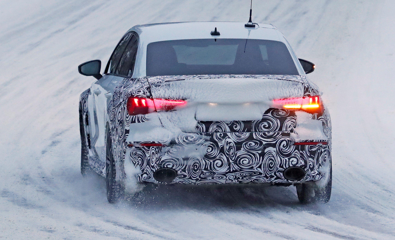 Audi RS3 sedan winter 11