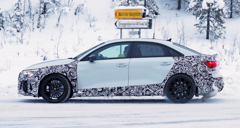 Audi RS3 sedan winter 5