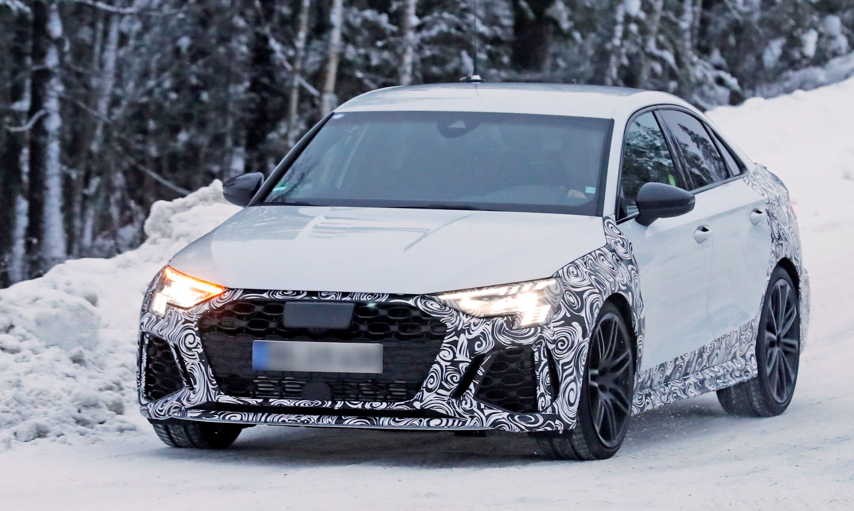 Audi RS3 sedan winter 13