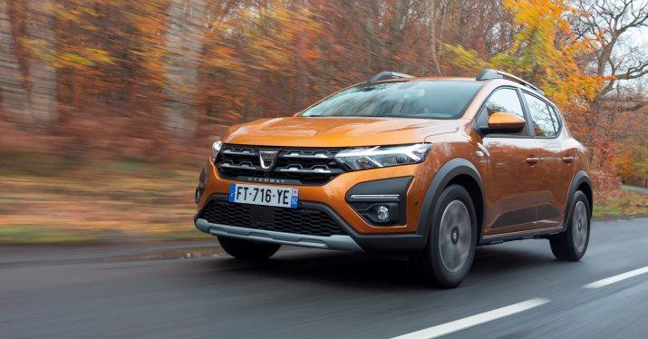2020 - New Dacia SANDERO STEPWAY tests drive