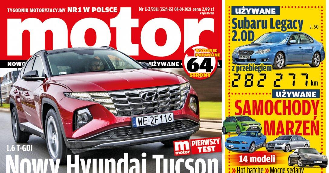 """""""Motor"""" 01-02/2021 – zapowiedź numeru"""