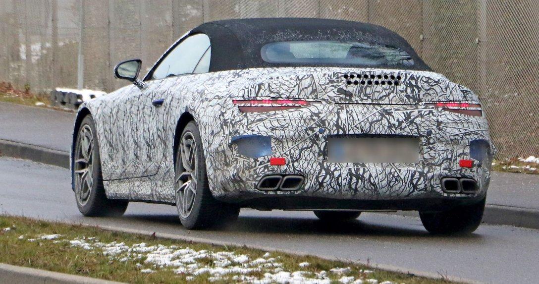 Nowa generacja skonstruowana przez AMG – Mercedes SL