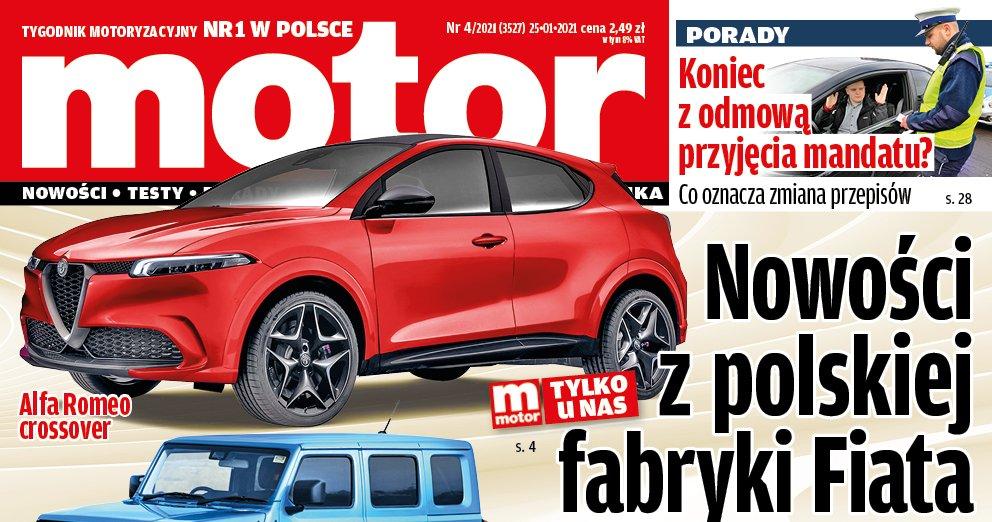 """""""Motor"""" 04/2021 – zapowiedź numeru"""