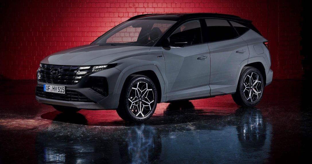 Nowa usportowiona wersja – Hyundai Tucson N Line