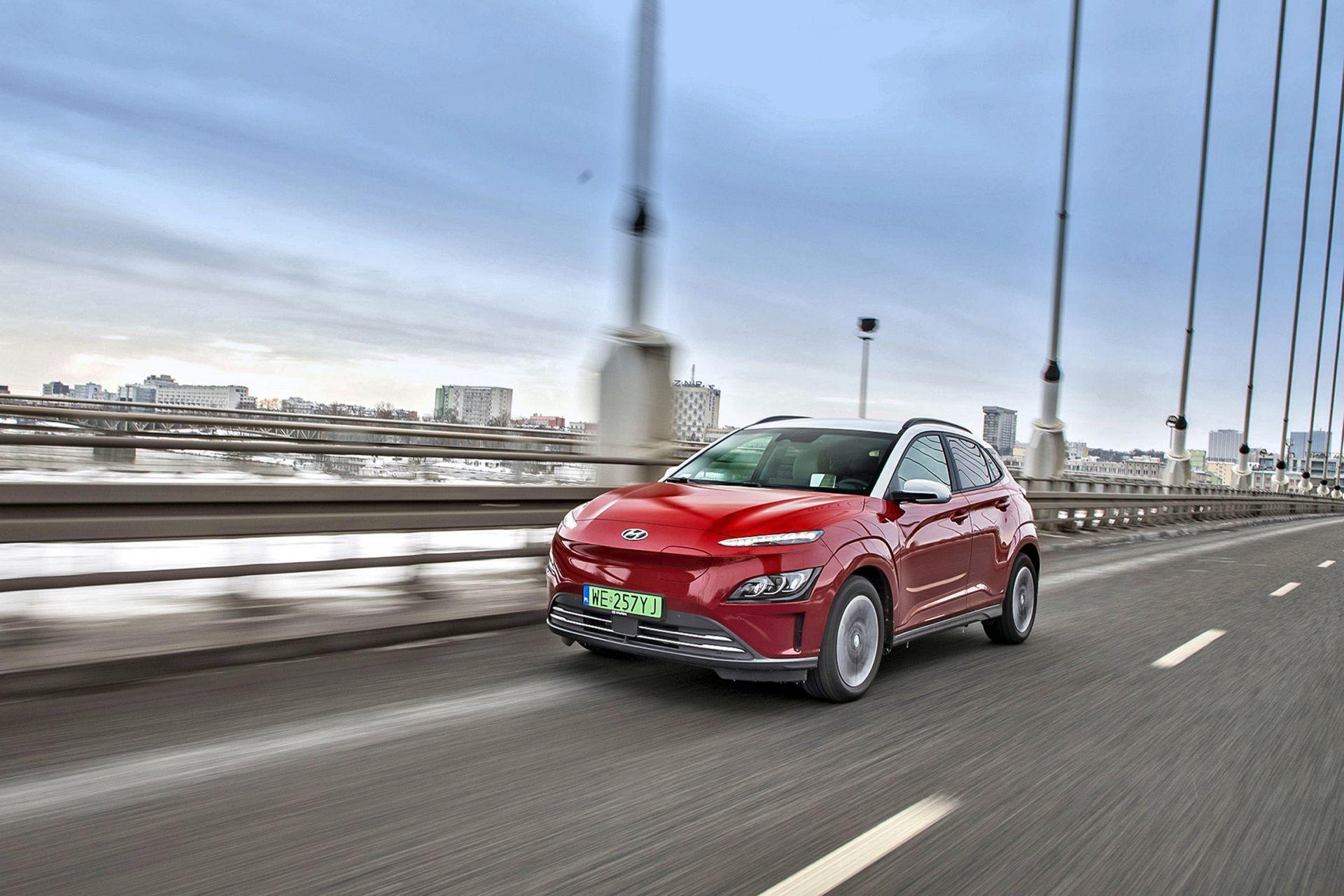 2021 Hyundai Kona electric 64 kWh