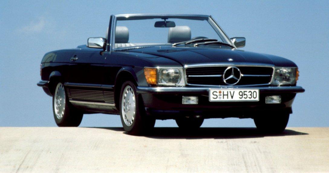 Mercedes SL R 107 w tym roku kończy 50 lat