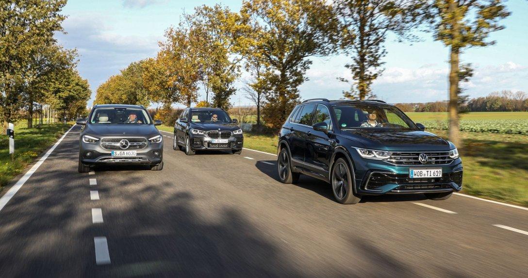 BMW X1 kontra Mercedes GLA i VW Tiguan – porównanie