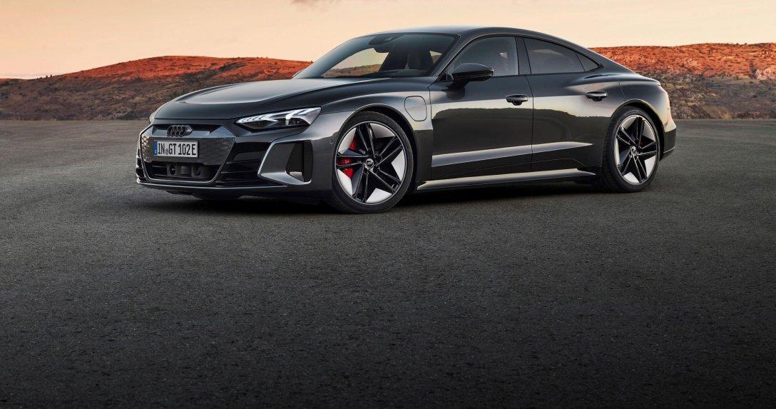 Pierwszy RS z napędem elektrycznym – Audi e-tron GT