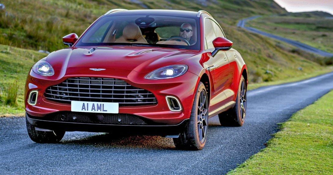 Aston Martin DBX – test