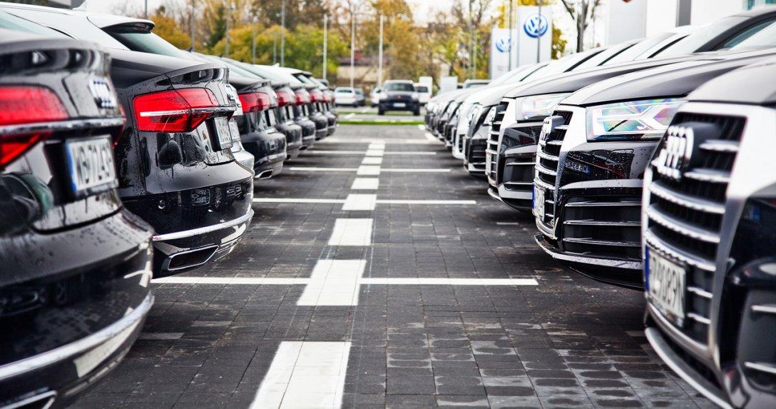 Audi parking