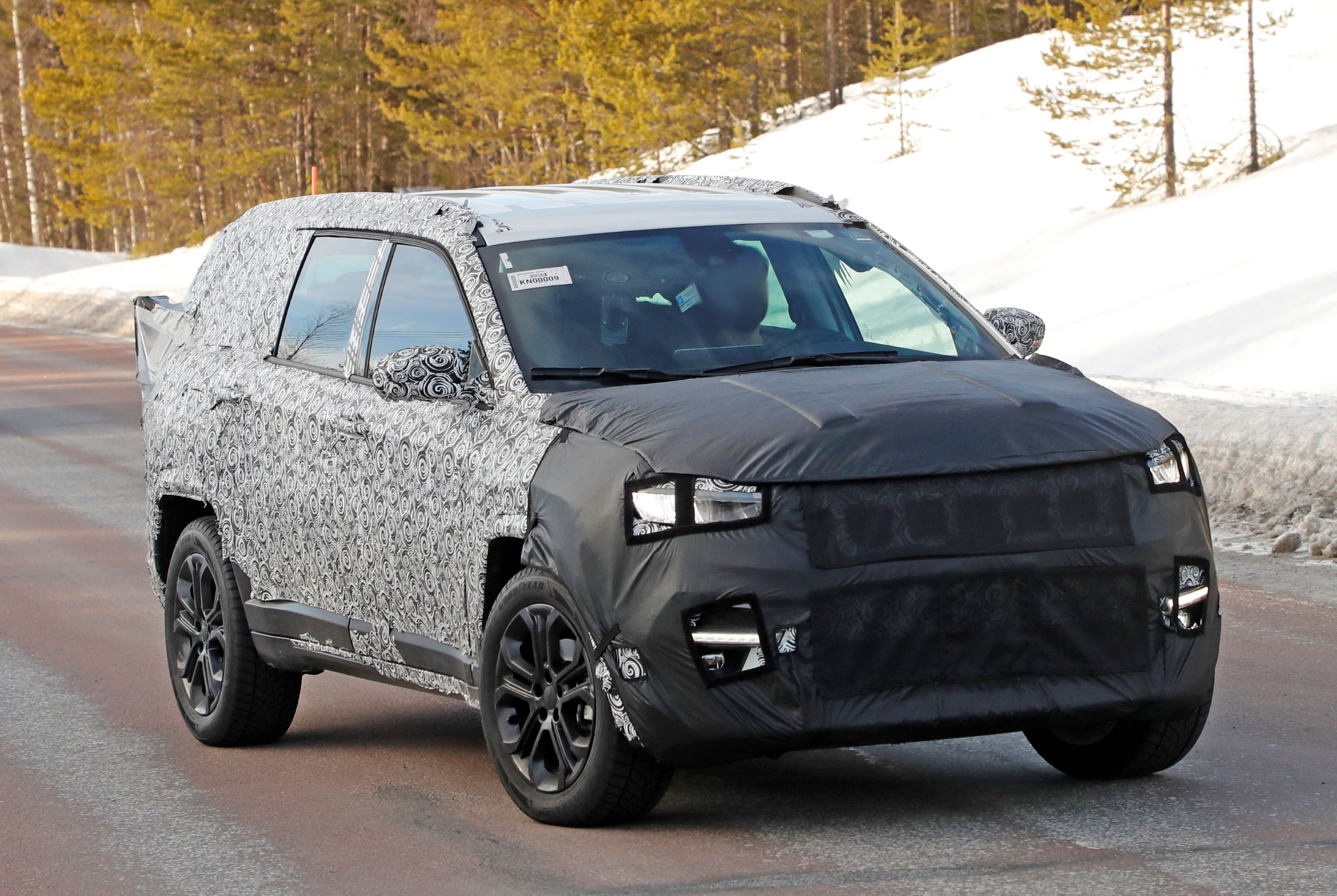 Jeep Compass based 7 seater 3