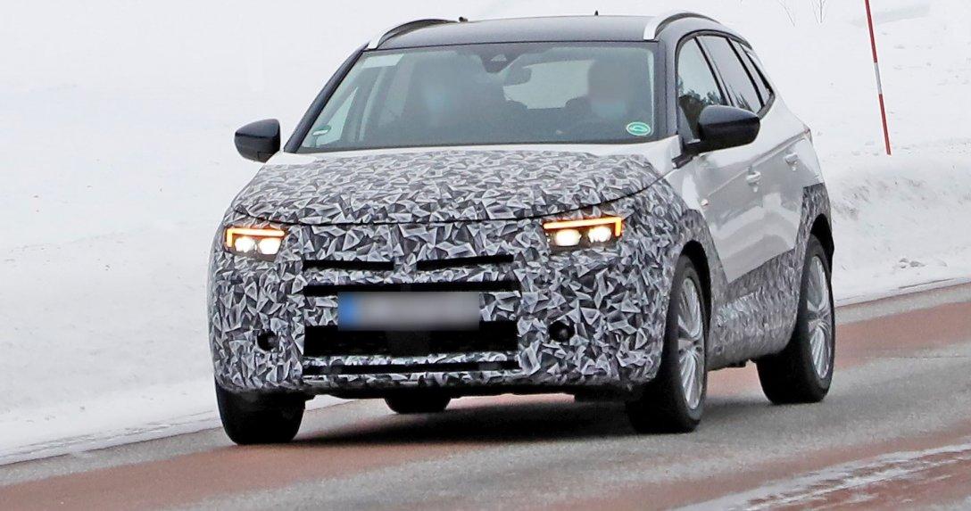 Nowy przód – Opel Grandland