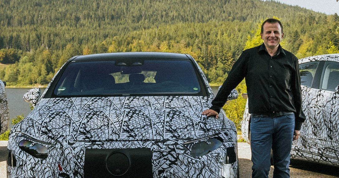 Ekskluzywny wywiad z Christophem Starzynskim, szefem elektrycznej gamy Mercedesa
