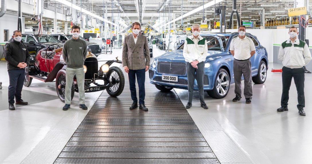 Bentley fabryka Crewe