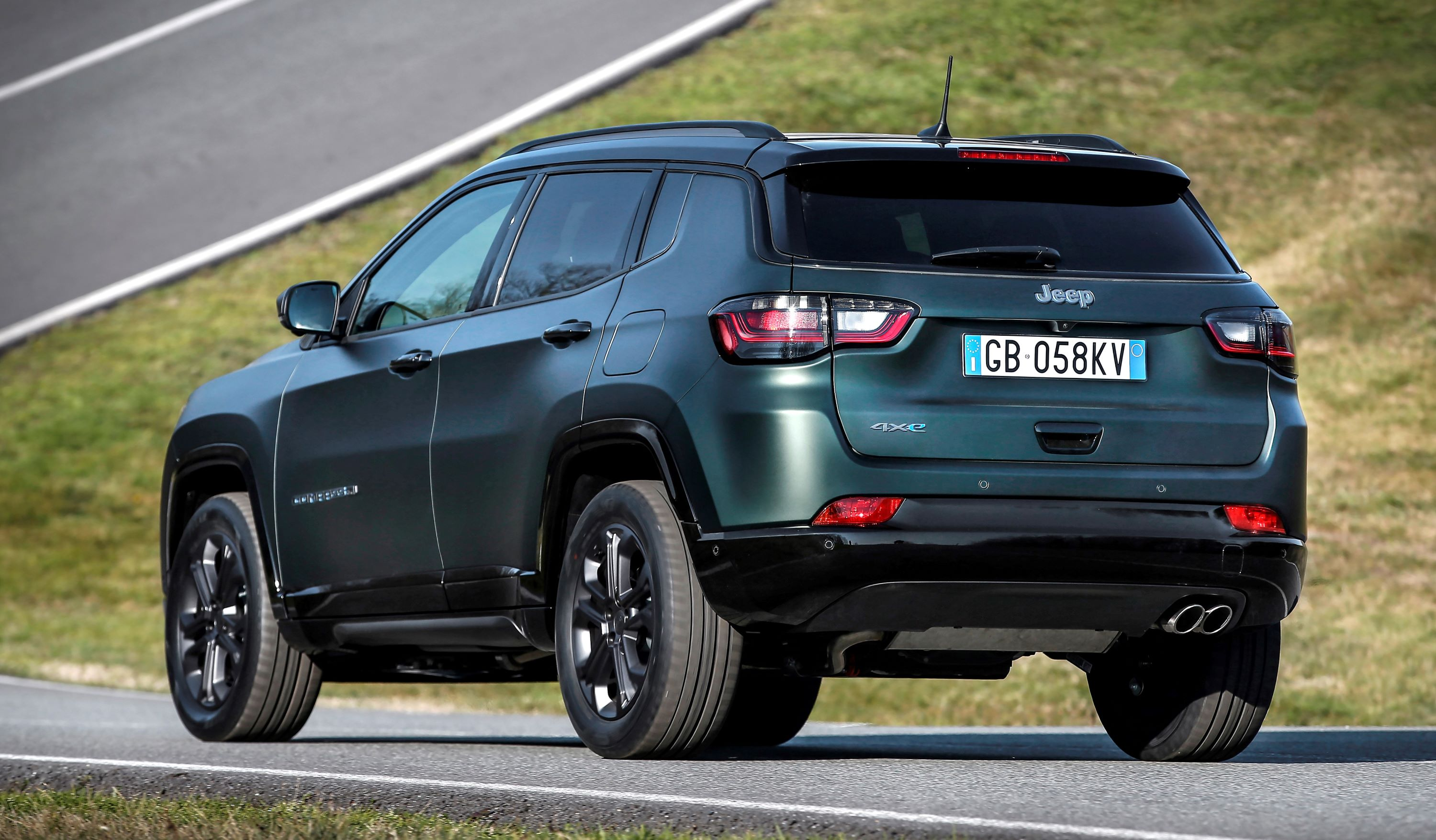 2.  New Jeep® Compass 80th Anniversary 4xe