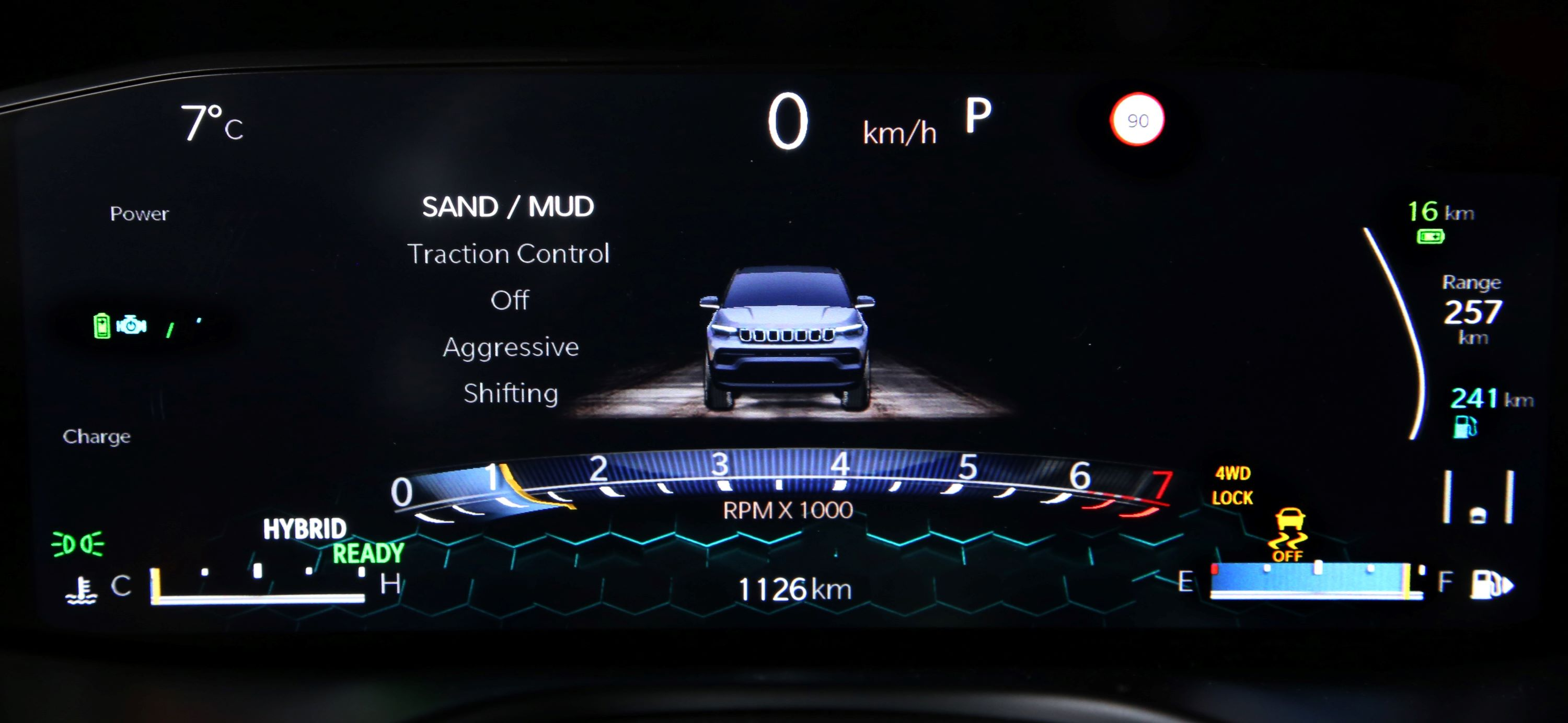 1. New Jeep® Compass_cluster
