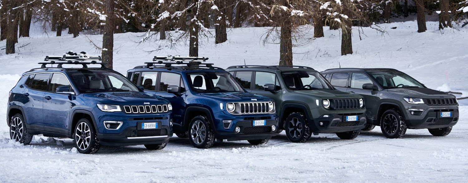 Jeep 4xe_Renegade & Compass_Trailhawk_Limited