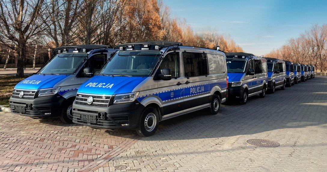 Volkswagen Crafter policja