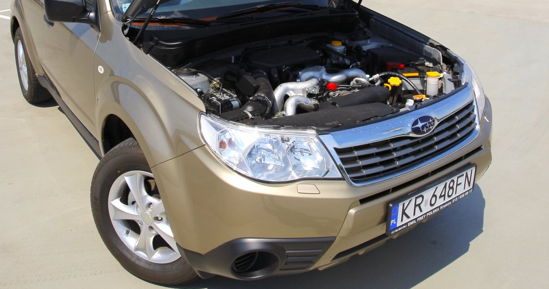 Używane auta z silnikami boxer – przegląd modeli, zalety, wady, ceny