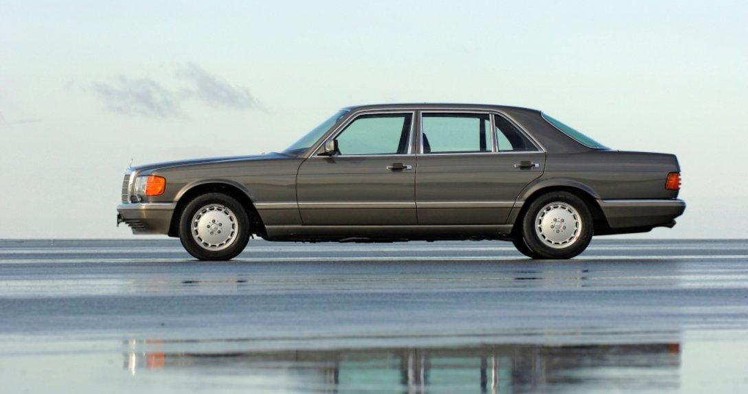 Mercedes klasy S najczęściej rejestrowanym klasykiem