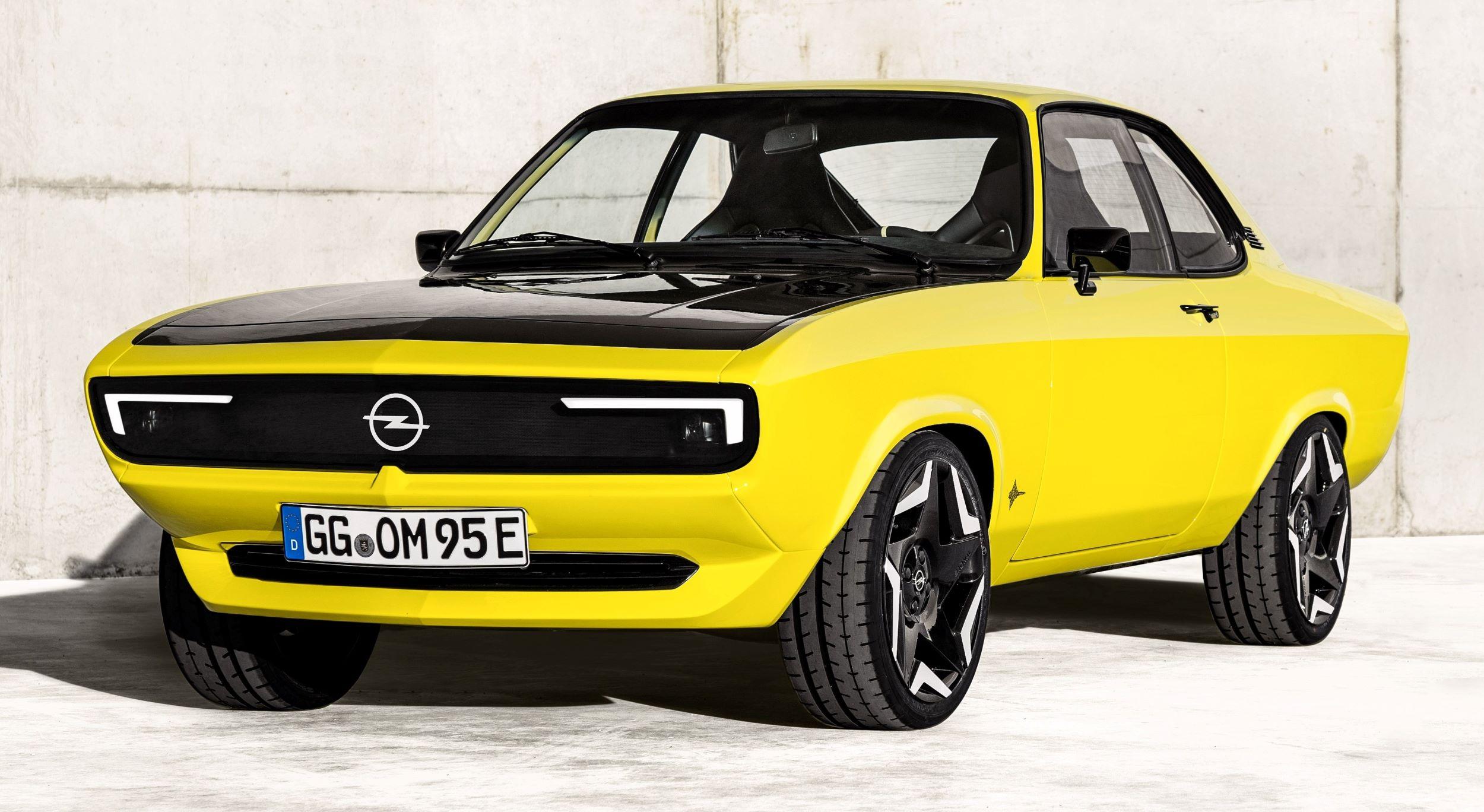 Opel Manta GSe przód jazda