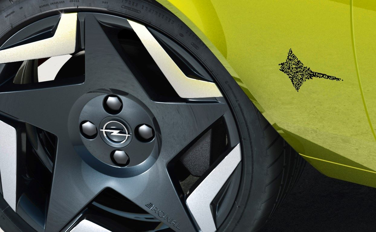 Opel Manta GSe koło
