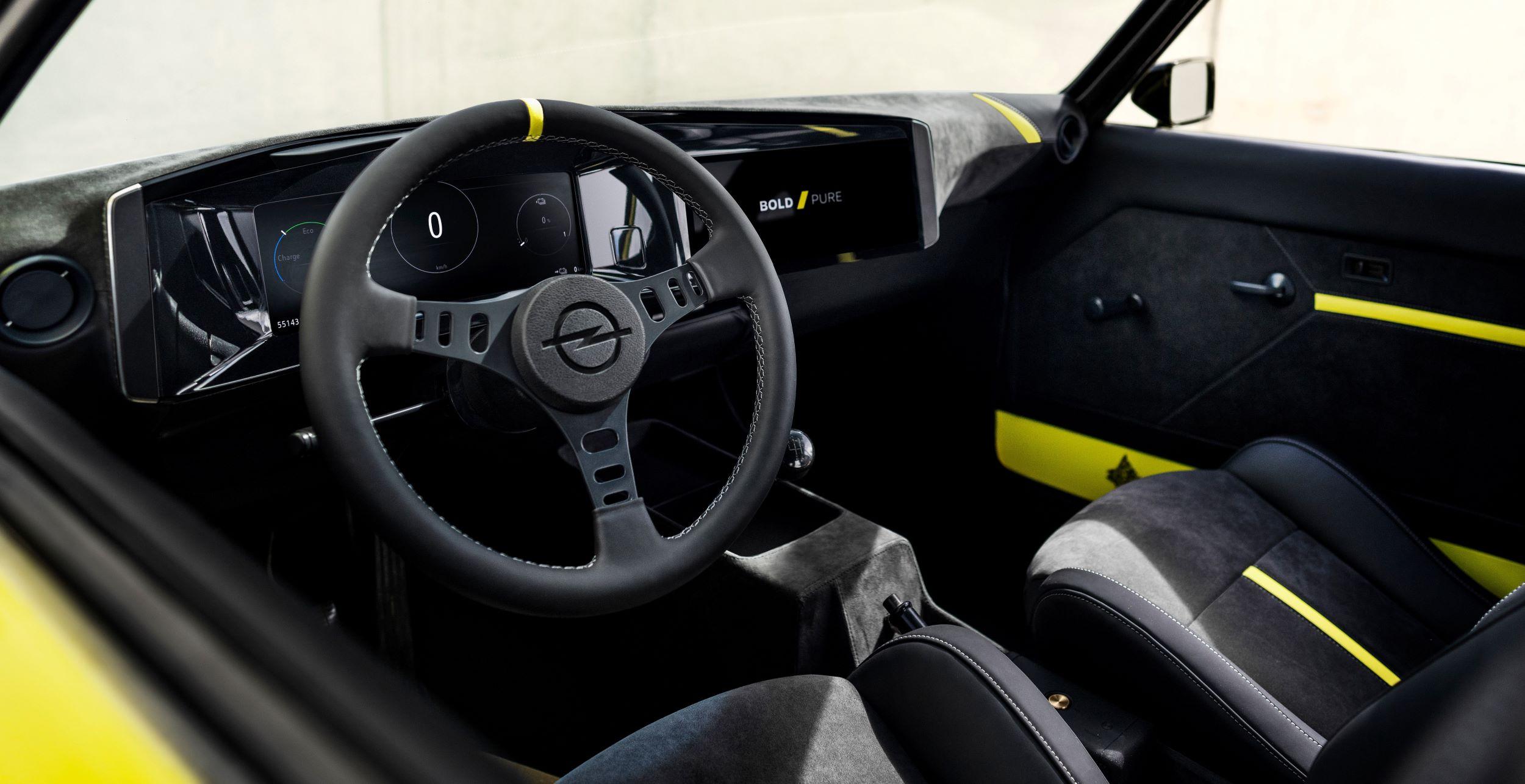 Opel Manta GSe deska rozdzielcza