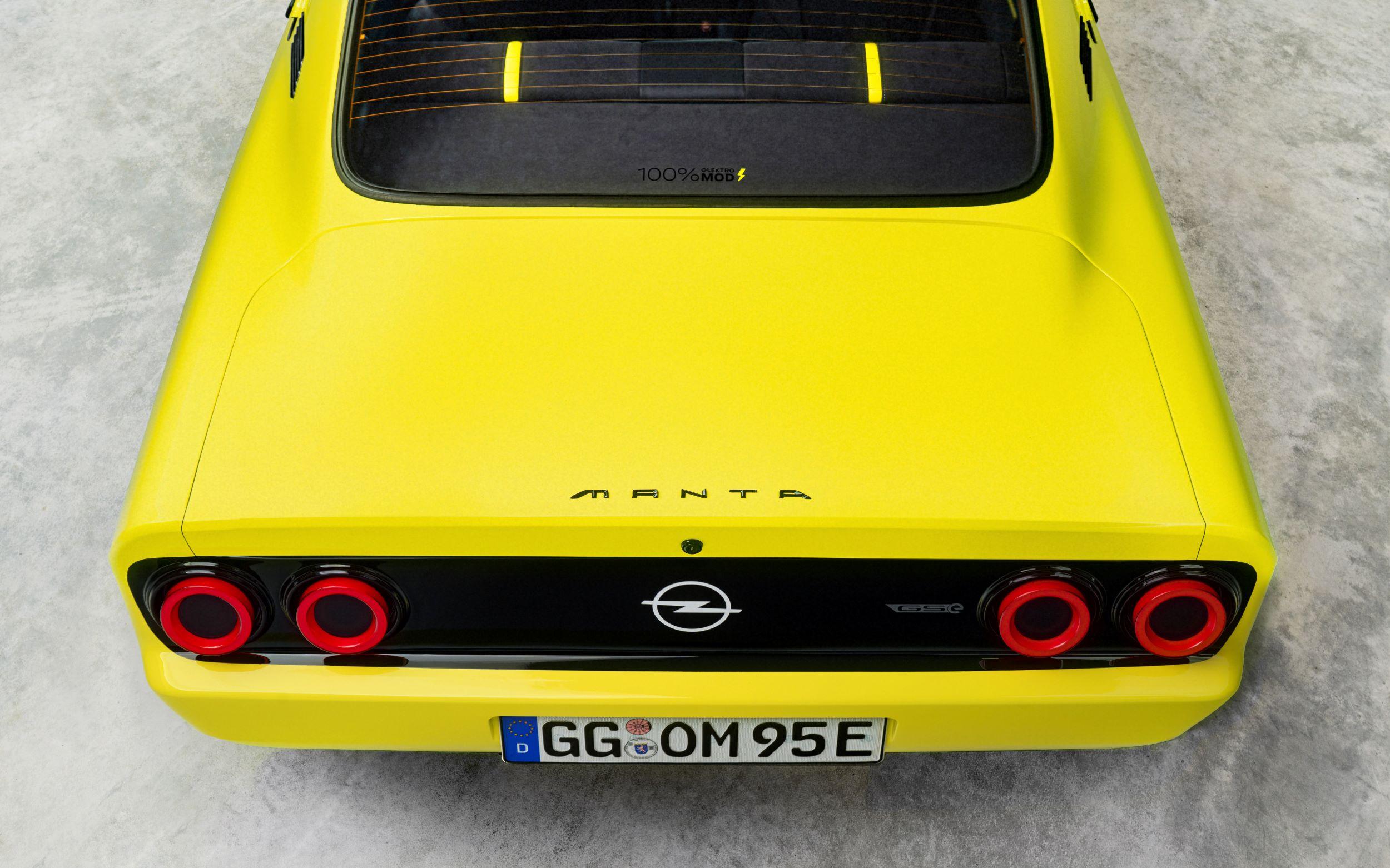 Opel Manta GTe tył