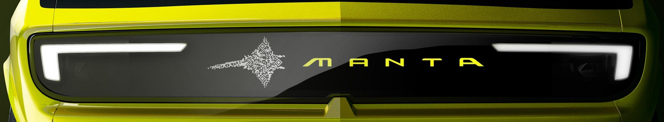 Opel Manta GSe przód