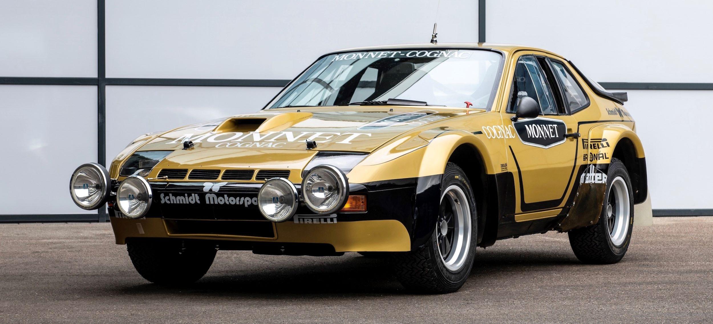 Porsche 924 Carrera GTS Rally