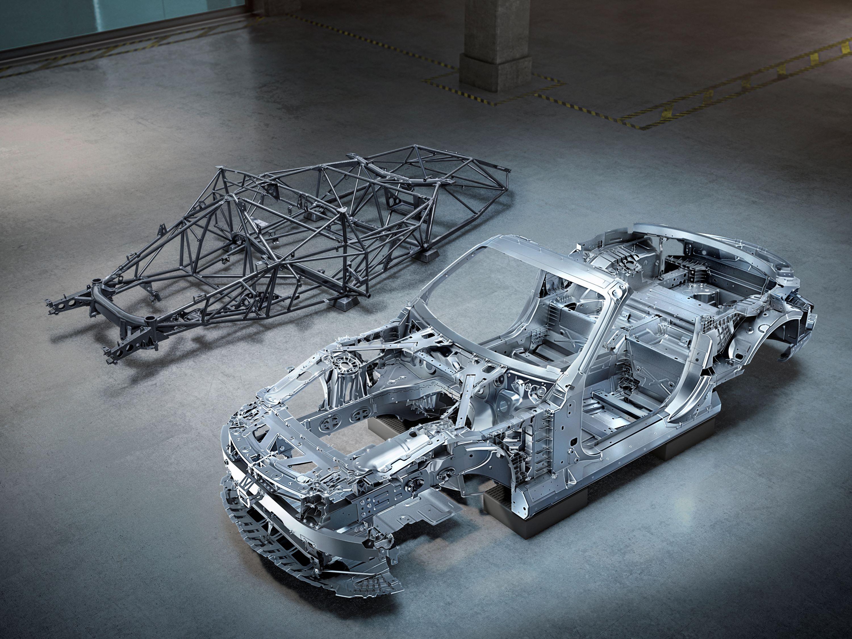 Mercedes SL ramy