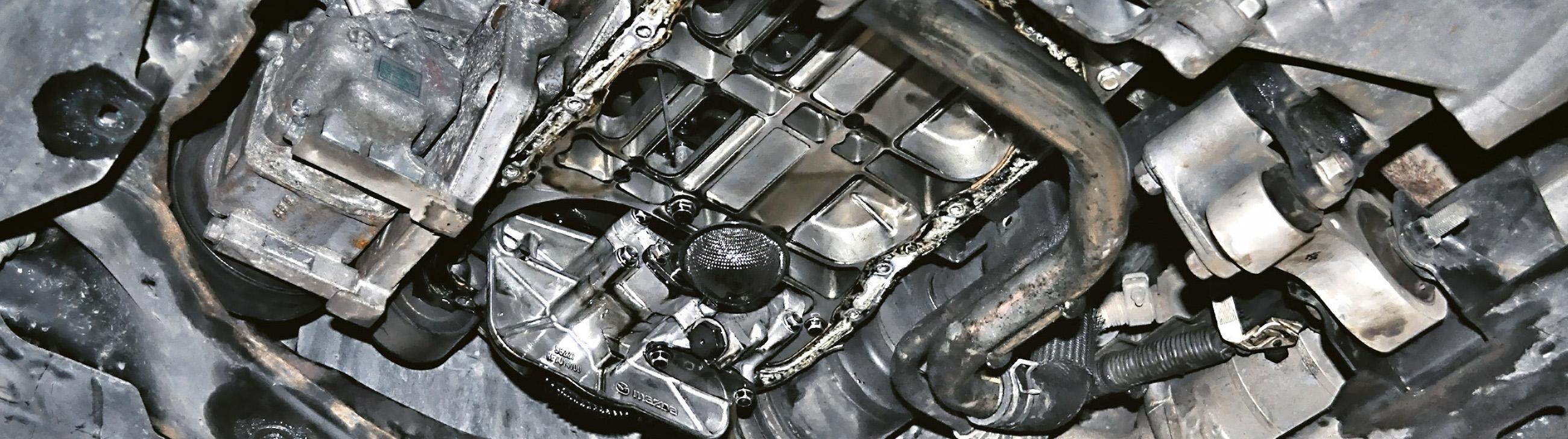 Smok olejowy Mazda diesel