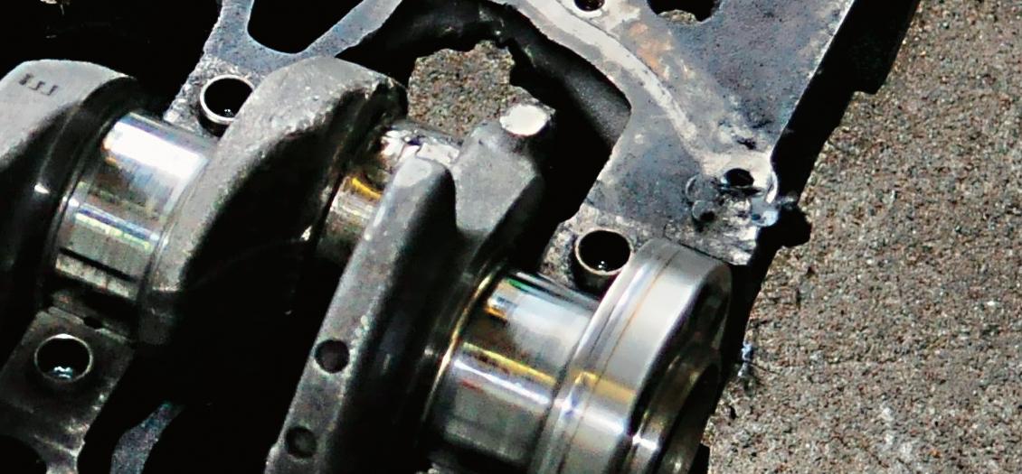 Zatarty wał korbowy Renault 1.5 dCi