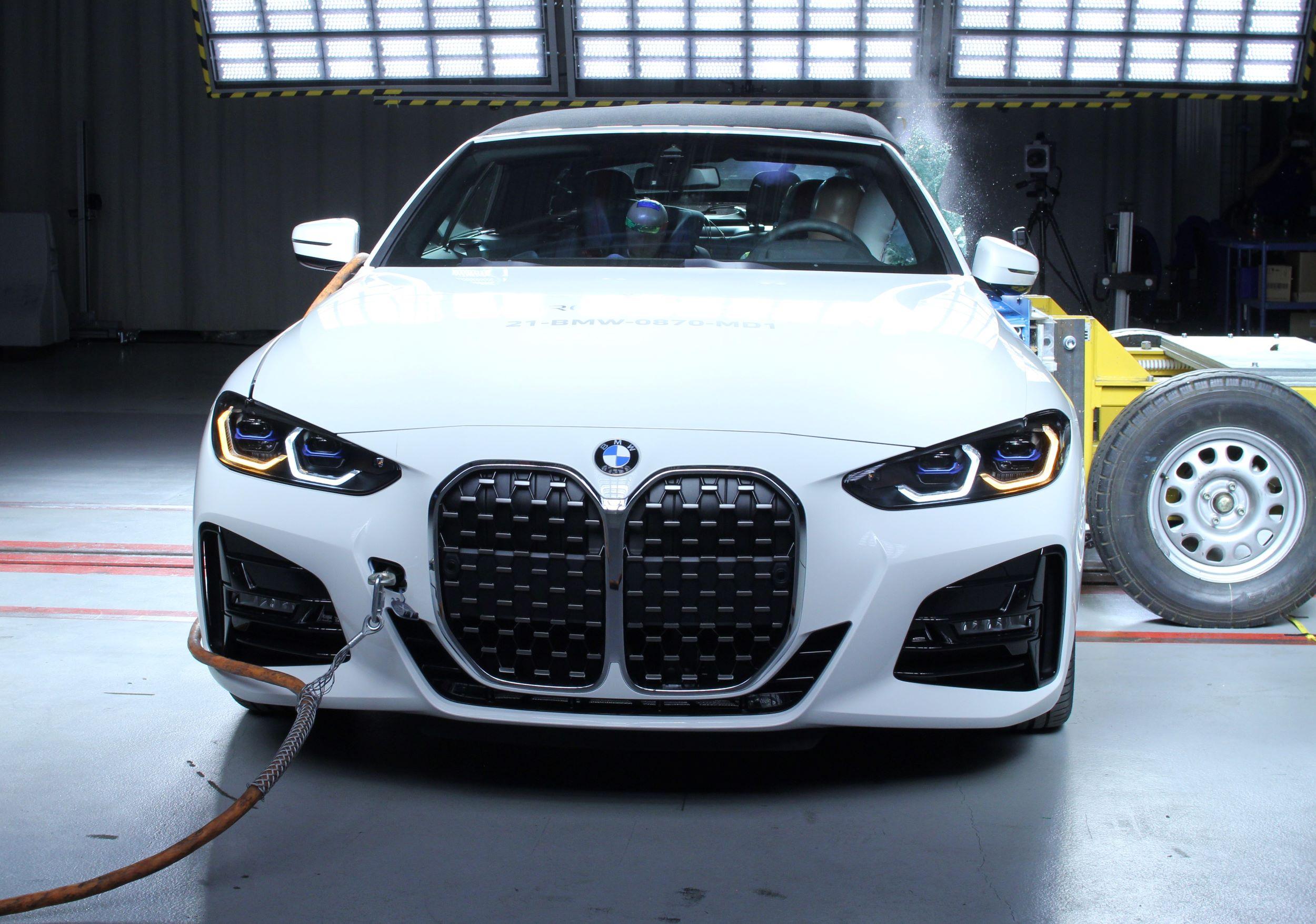 BMW serii 4 Cabriolet crash test