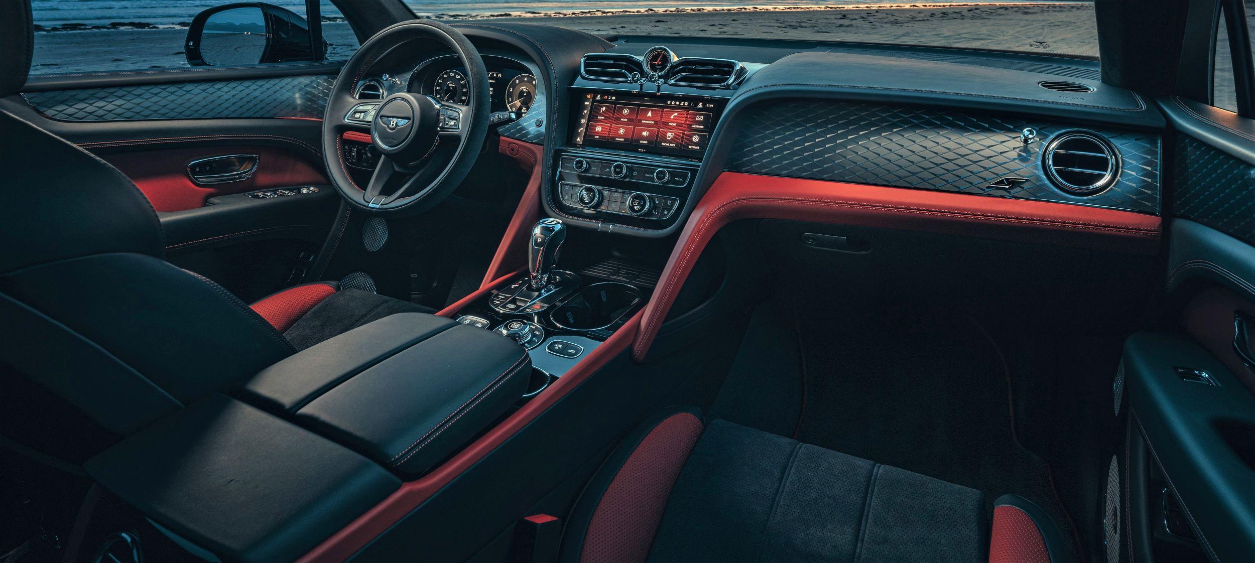 Bentley Bentayga S deska