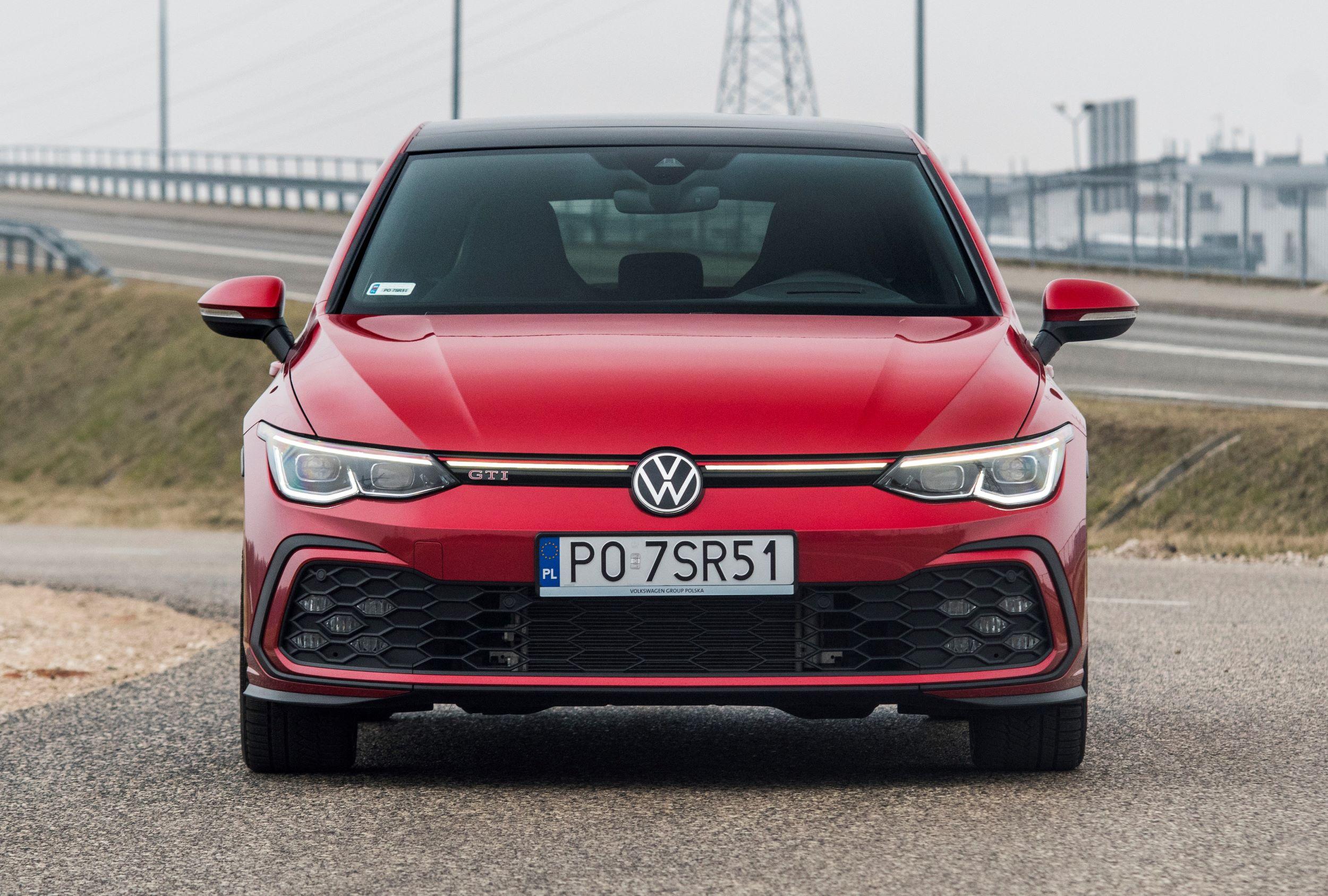 Volkswagen Golf przód